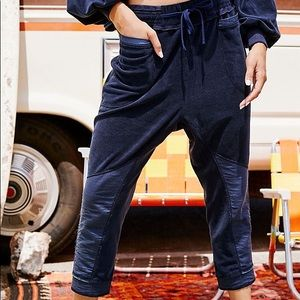 New free people navy pants